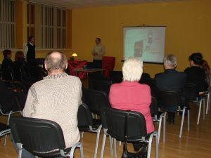 Wieczór autorski Mariana Nocoń 18 lutego 2011 roku w Ośrodku Kultury SM Piast w Katowicach
