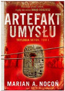 Okładka skążki Artefakt umysłu